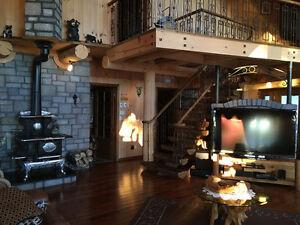 Maison en bois rond à vendre 120, ch. des Patriotes, Ste-Monique Lac-Saint-Jean Saguenay-Lac-Saint-Jean image 9