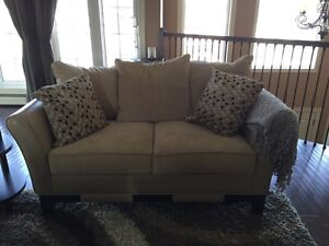Leather Couch, Love Seat, Sectional and Two Custom Chairs