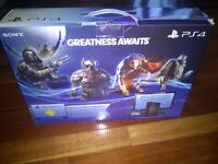 Like New PS4 with 3 games