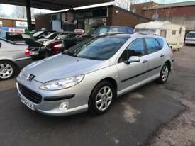 Peugeot 407 SW S HDi DIESEL MANUAL 07/56 LOW MILEAGE IMMACULATE ESTATE MOT FSH