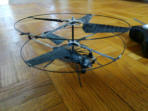 Radio Controlled BladeRunner Micro Mosquito RC Helicopter