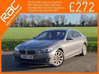 2010 BMW 5 Series 520d Turbo Diesel SE 6 Speed Front and Rear Cam Full Bluetooth