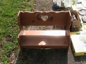 small wooden bench for sale