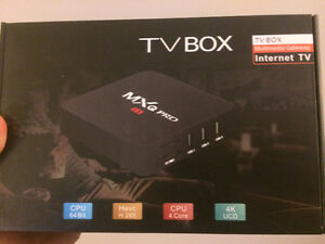 ANDROID TV BOXES 4K KODI 17.1 MOVIES, TV SHOWS, LIVE TV, LIVE S
