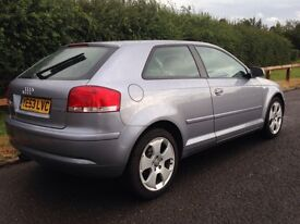 AUDI A3 2004 MODEL 2.0 FSI SPORT DRIVES LIKE NEW DONT MISS OUT VOLKSWAGEN SEAT BMW