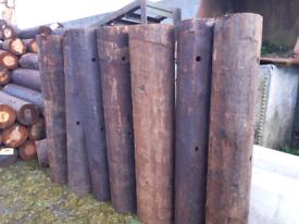 1 meter posts
