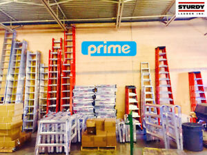 Sturdy Brand Ladders Available at Prime Fasteners