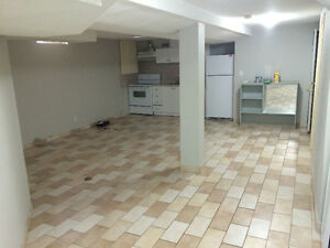 Bathurst and Steeles Extra large 3 bedroom basement apartment