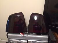 MK4 Astra Smoked Rear Lights Gloss Black