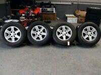 "17"" Genuine OEM Ford Ranger Alloy Wheels & Tyres"