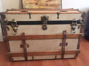 Vintage Trunk $70 firm