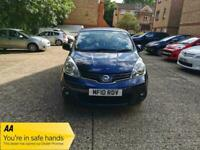 2010 Nissan Note 1.4 16V Acenta 5dr +ULEZ +New Wheel Baring Fitted