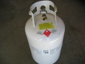 30 lb Propane tank full and certified $75