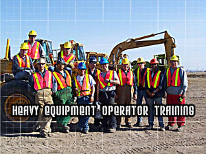 Training/Tickets on 4 pieces of Heavy Equipment in 4 wks! Sep18!