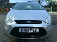 14 plate -Ford S-Max- zetec - 7 seater - strong service history -