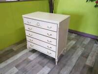 French Louis Style Chest Of Drawers - Can Deliver For £19