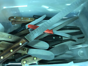 Assorted Kitchen Knives SOLD