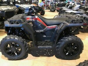 2018 Polaris Sportsman 850 SP Matte Titanium