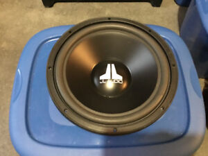 """JL AUDIO 12W0-4 12"""" SUBWOOER IN GOOD CONDITION"""