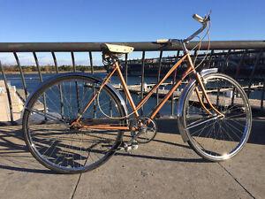 Gorgeous Metallic Brown Vintage Bike - Très Belle Vélo Vintage