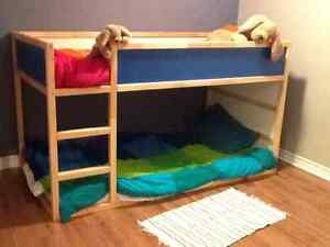 Kura reversible bunk bed for children