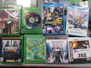I am looking for empty game cases!