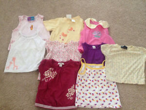 Lot of 31 pieces of girl's clothes size 12 months, Spring/Summer Kitchener / Waterloo Kitchener Area image 2