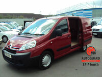 2011 CITROEN DISPATCH 1.6HDi ( 90 ) L1 H1 1000 RED DIESEL SWB VAN