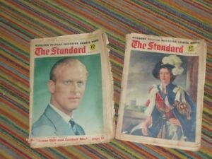 Two 1951 issues of The Standard magazine