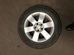 4 NEW SUMMER TIRES + MAGS P185/65R15 Toyota corolla 250$
