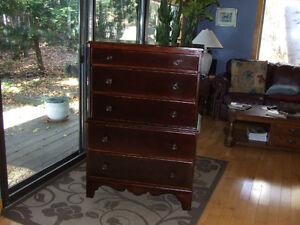 Antique chest on chest Dresser