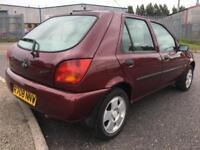 1998 R Ford Fiesta 1.25 LX 5 DR HATCHBACK NO MOT NO OFFERS VERY NICE CAR