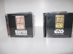 Stars Wars/New Hope/Empire Strikes -2 cd sets-$10 or $15 for all