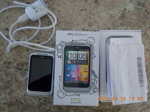HTC Wildfire S cell phone for sale