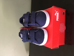 Puma Boys Size 10 Toddler Sneaker, brand new with tags