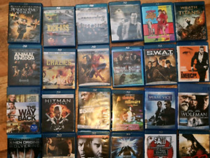 HUGE LOT BLU RAYS 49 HD MOVIES