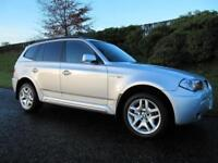 2006 BMW X3 2.0d M Sport FULL LEATHER 4X4