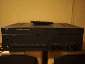 NAD C370 Stereo Amplifier + Remote and JBL S310BE Floor Speakers