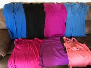 Maternity & Nursing Summer tops Medium $5 each