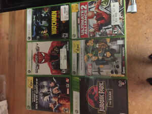Xbox 360 games, 5 bucks each!