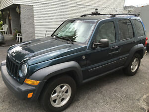 2006 Jeep Liberty CRD VUS