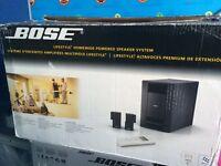 Bose lifestyle homewide powered speakers system for hifi or AV system brandnew