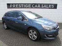 2014 Vauxhall Astra 2.0 CDTi 16v SRi 5dr Diesel blue Automatic