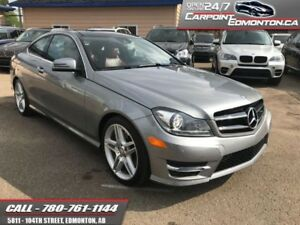 2015 Mercedes Benz C-Class C350 4Matic....FULL WARRANTY...23707