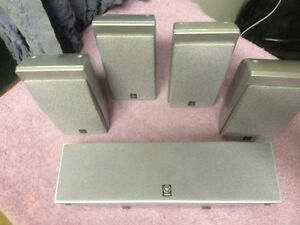 yamaha 5.1 speakers set also magnetic shielding