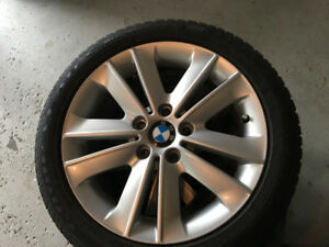 BMW - 205/50/r17 Winter Tires and Factory BMW Rims