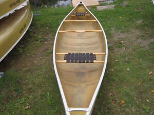 used kevlar and poly canoes for sale