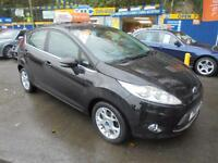 2011 11 FORD FIESTA 1.25 ZETEC IN BLACK # DEMO AND ONE OWNER #