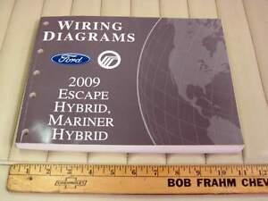 2009-Ford-Escape-Mercury-Mariner-HYBRID-Truck-Electrical-amp-Vacuum-EVTM-Manual