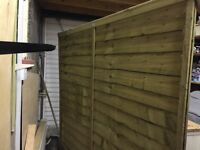 New Fence panel-free to take